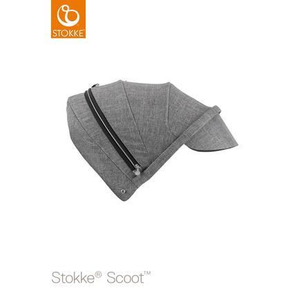 STOKKE® Scoot™ V2 Sonnendach Black Melange