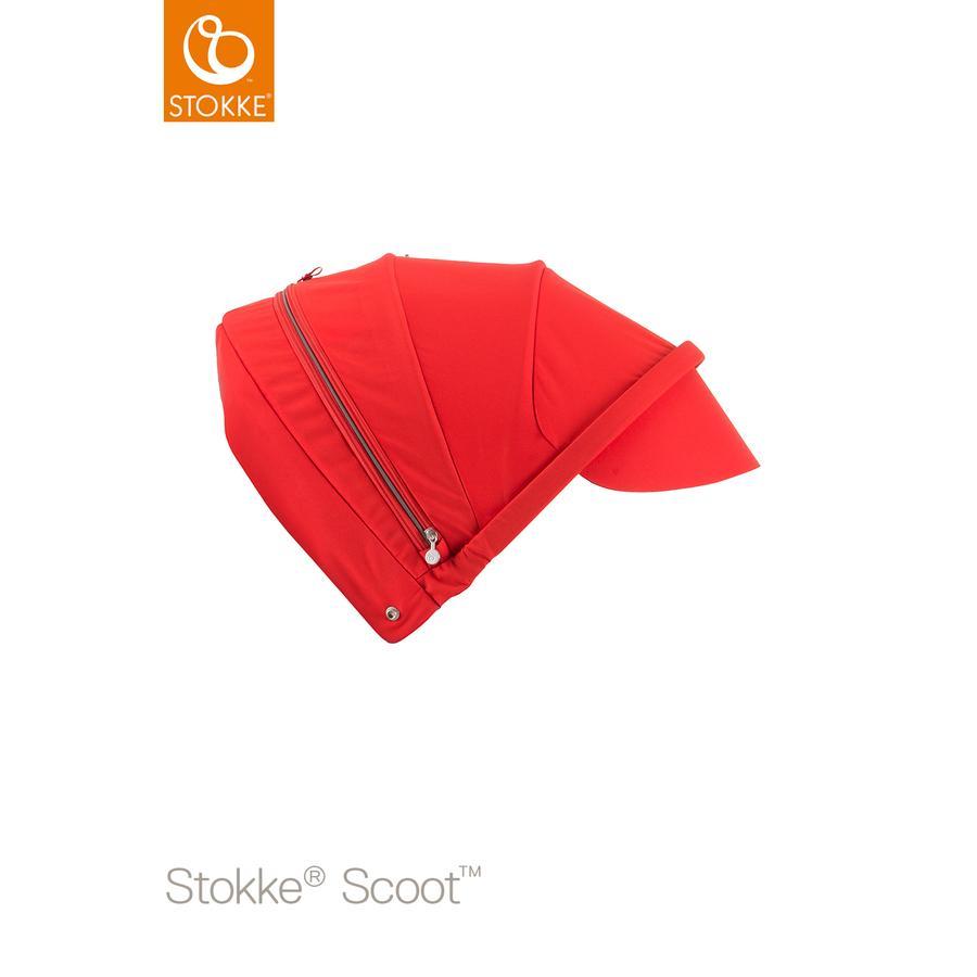 STOKKE® Scoot™ V2 Sonnendach Red