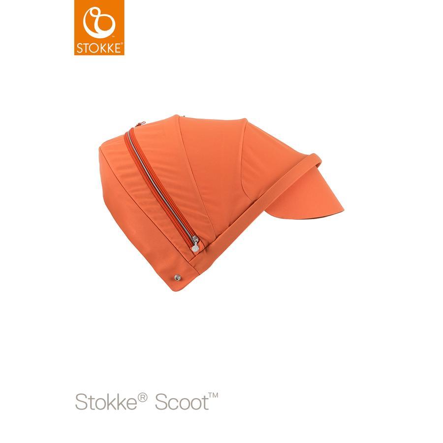 STOKKE® Scoot™ V2 Sonnendach Orange