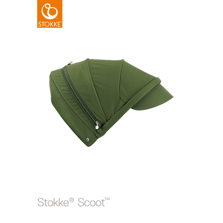 STOKKE® Scoot™ V2 Sonnendach Green