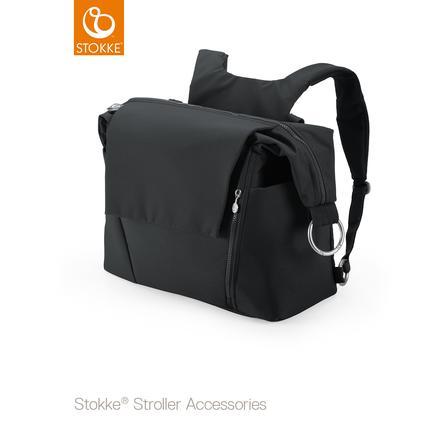 STOKKE Wickeltasche Black