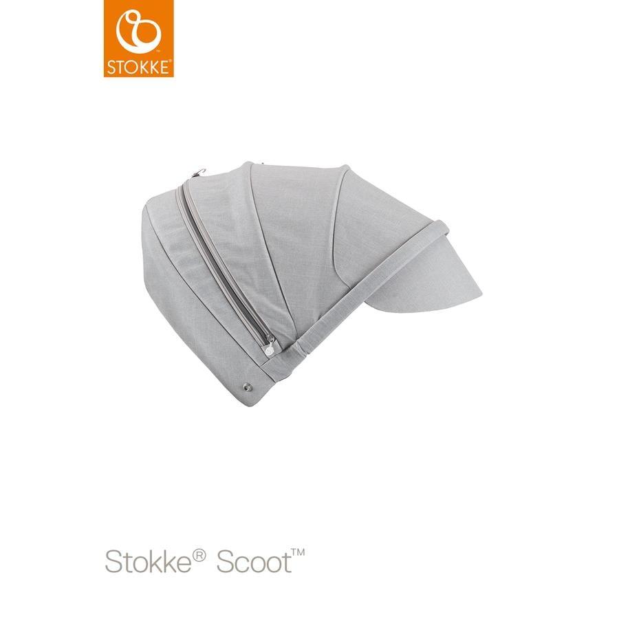STOKKE® Scoot™ V2 Sonnendach Grey Melange