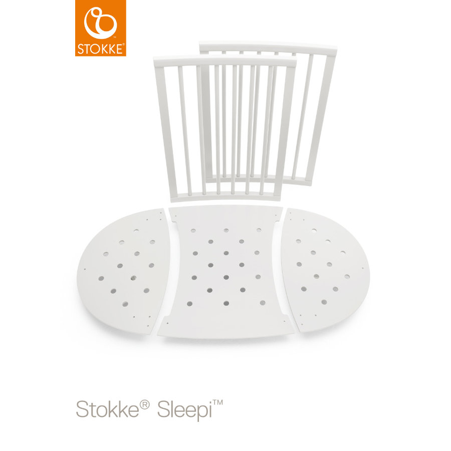 STOKKE® Sleepi™ Kinderbett Umbausatz weiß