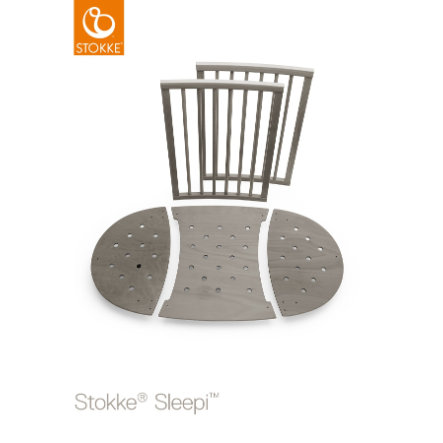 STOKKE® Sleepi™ Kinderbett Umbausatz Hazy Grey