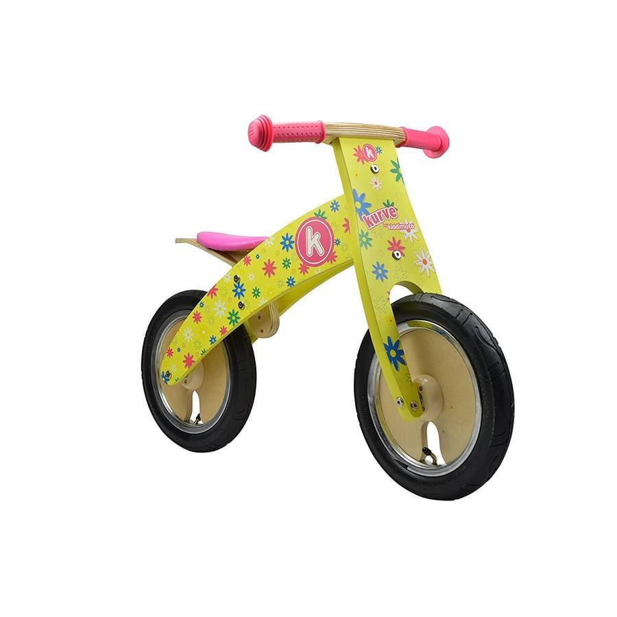 kiddimoto® Premium Laufrad - Blumenkind