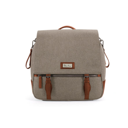 Silver Cross Sac à langer dos Wave lin sable beige
