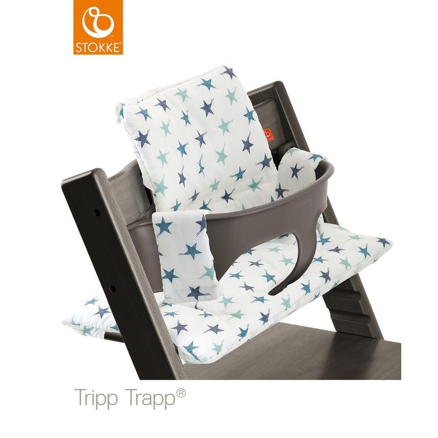 stokke tripp trapp classic baby sitzkissen aqua star beschichtet. Black Bedroom Furniture Sets. Home Design Ideas