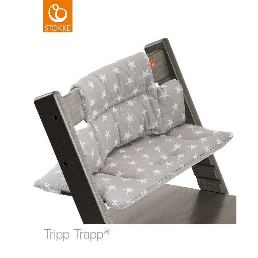 STOKKE® Tripp Trapp® Classic Baby Sitzkissen Grey Star beschichtet