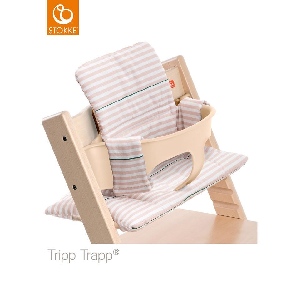 STOKKE® Tripp Trapp® Classic Baby Sitzkissen Pink Stripes beschichtet