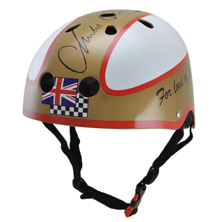 kiddimoto® Helm Limited Edition Hero, Mike Hailwood - Maat S, 48-53cm