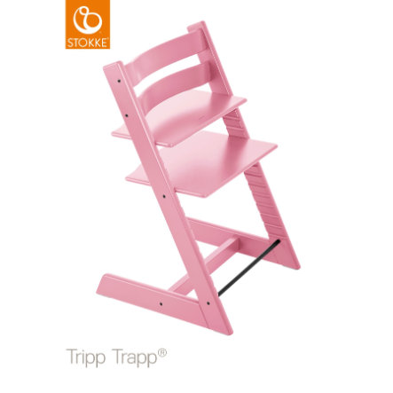STOKKE® Tripp Trapp® Hochstuhl Buche Soft Pink