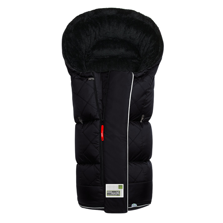 odenwälder Fußsack Keep Heat XL schwarz