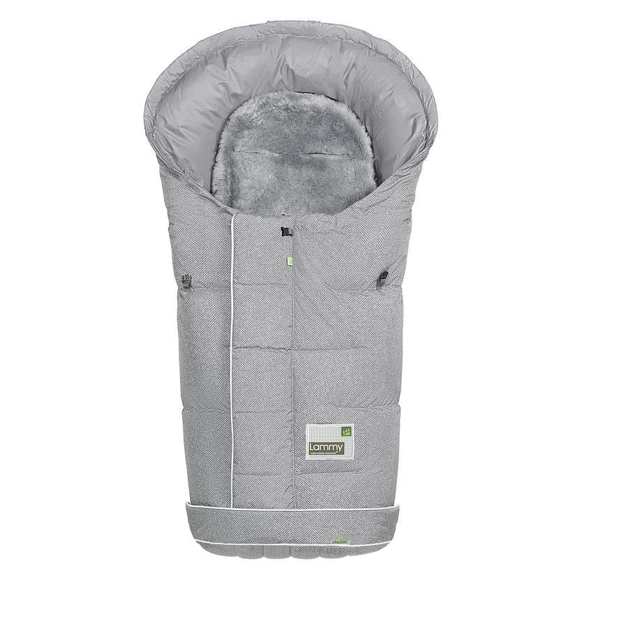 odenwälder kørepose Lammy New Wowen soft grey