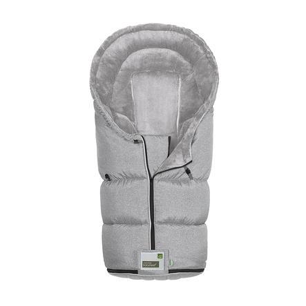 odenwälder Fußsack Lo-Go New Woven soft grey