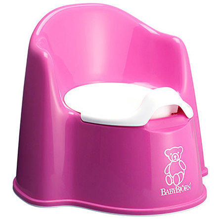 BABYBJÖRN Potty Trainer Potty Chair Pink(55155)