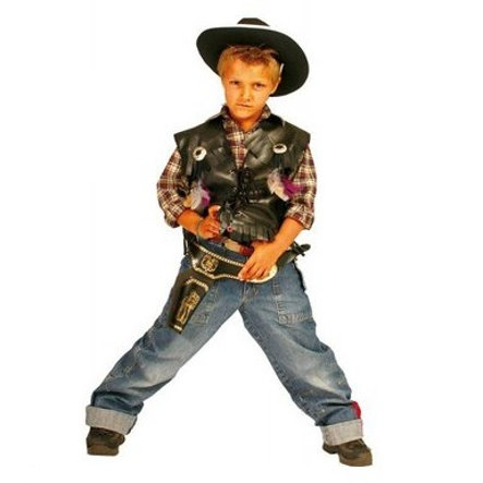 Funny Fashion Karneval Kostüm Sheriff Weste