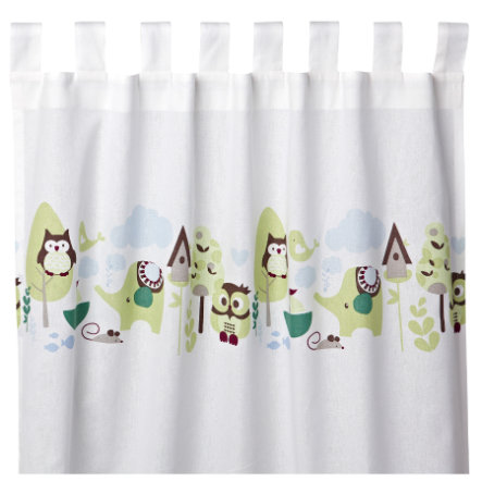 KIDS CONCEPT Loop Curtains Pumpkin