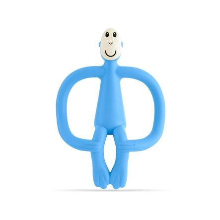MATCHSTICK MONKEY Anneau de dentition singe bleu clair