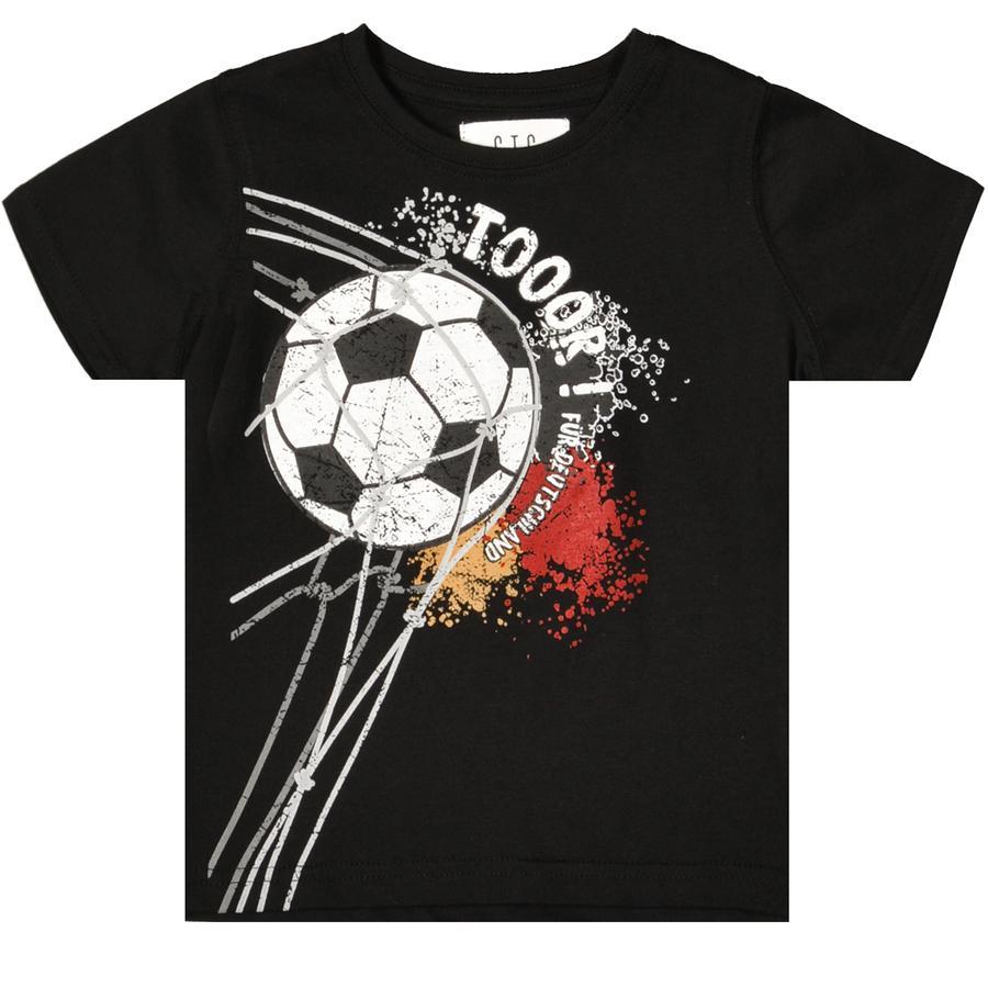 STACCATO Garçons T-Shirt noirs