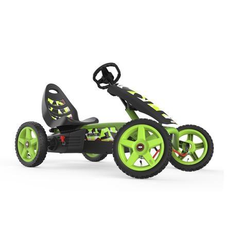 BERG Kart à pédales enfant Rally Force, noir/vert