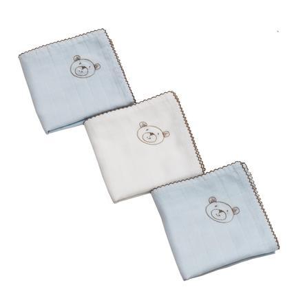 Be Be's Collection -harsovaippapakkauksessa on 3 karvaa sinistä