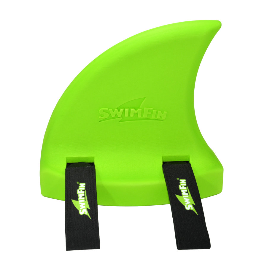 XTREM Toys and Sports - SwimFin Aiuto al galleggiamento, pinna di squalo, verde