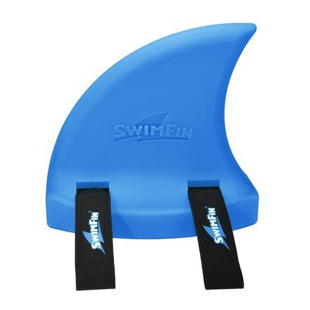 XTREM Toys and Sports - SwimFin Aiuto al galleggiamento, pinna di squalo, Blu