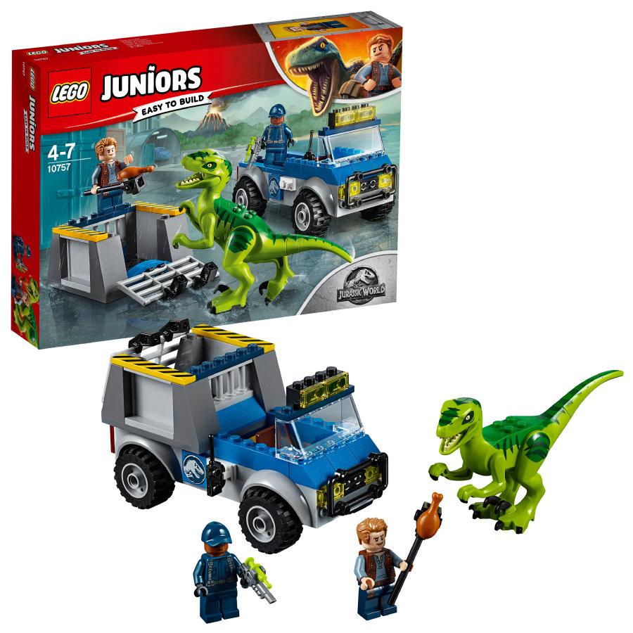 LEGO® Juniors - Raptoren Rettungstransporter 10757