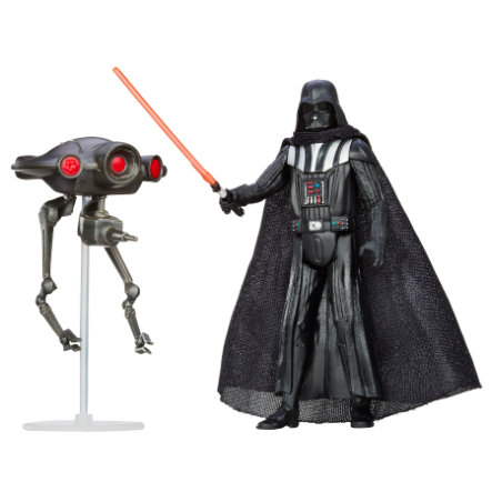 HASBRO Star Wars™ Mission Series Figurines - Dark Vador et Seeker Droid