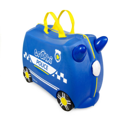 trunki Kinderkoffer - Polizeiauto Percy