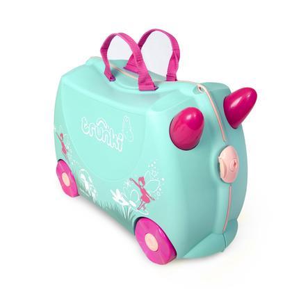 trunki Dětský kufřík + odrážedlo Flora