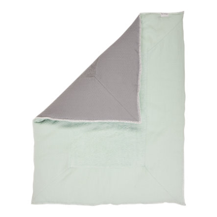 koeka Filt Stockholm misty mint/steel grey  80 x 100 cm