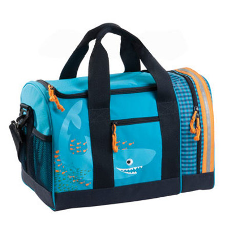 LÄSSIG 4 Kids Mini Sportsbag Shark ocean