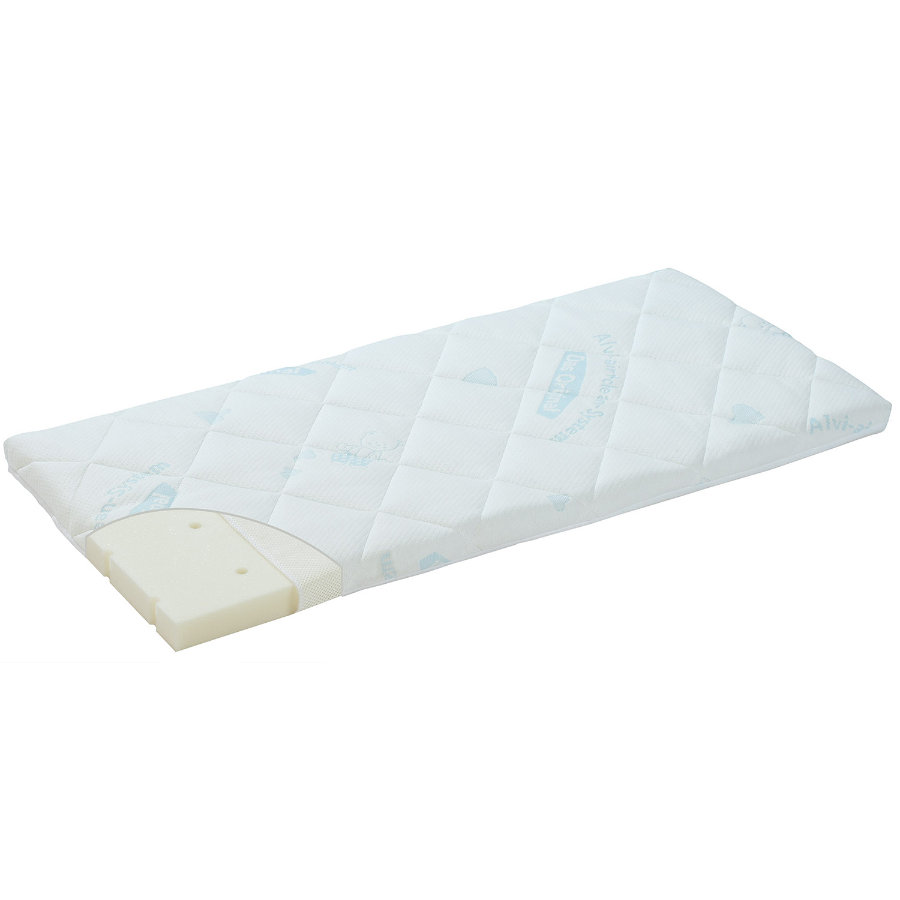 ALVI Luftikus mini Cradle Mattress Dry Cover Air & Clean 40 x 90 cm