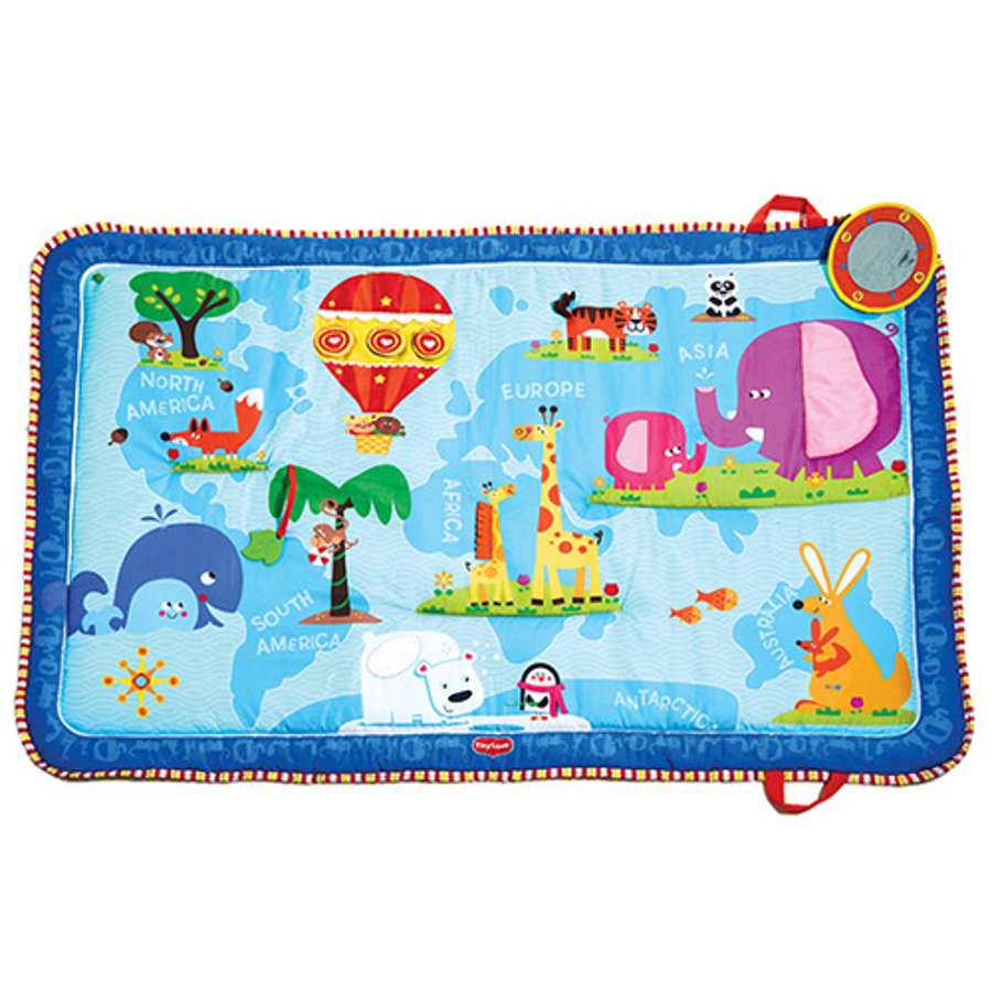 TINY LOVE Discover World Mat - Spieldecke