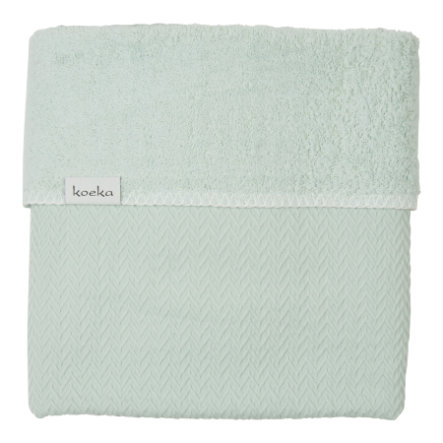 koeka Couverture bébé Stockholm misty mint, 100 x 150 cm
