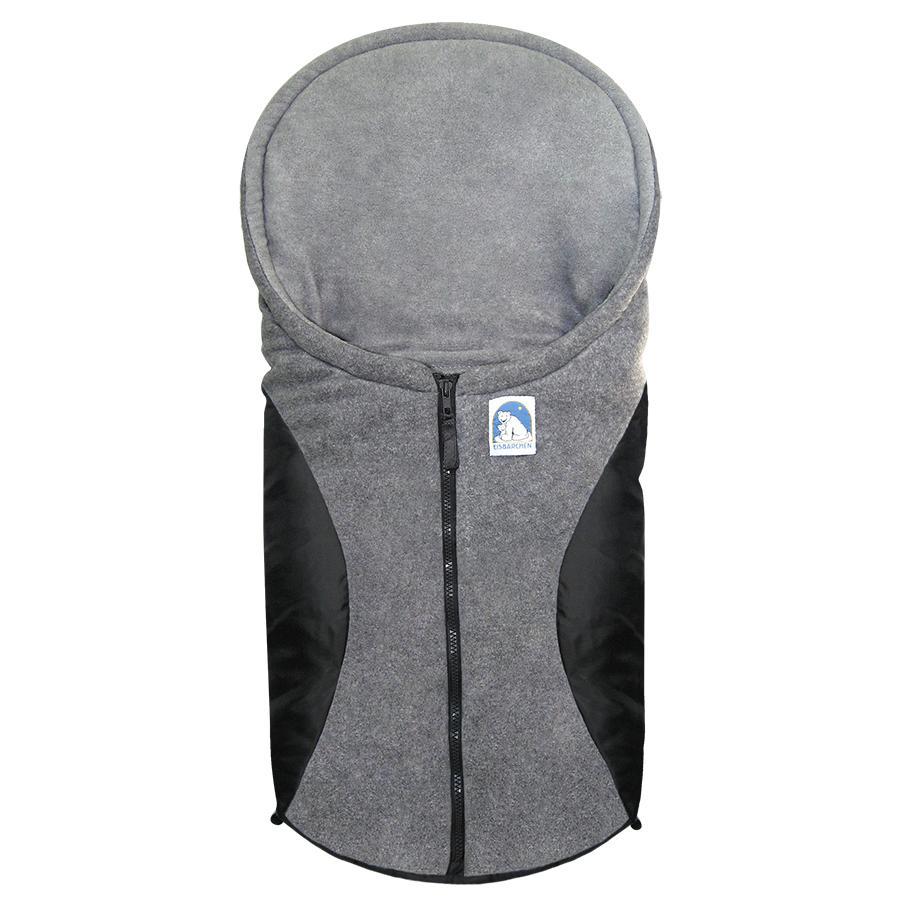 Heitmann Kørepose til babyautostol og barnevogn Eisbärchen sort