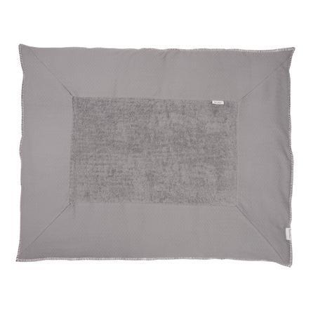 koeka Mata do raczkowania Stockholm steel grey/steel grey 75 x 95 cm