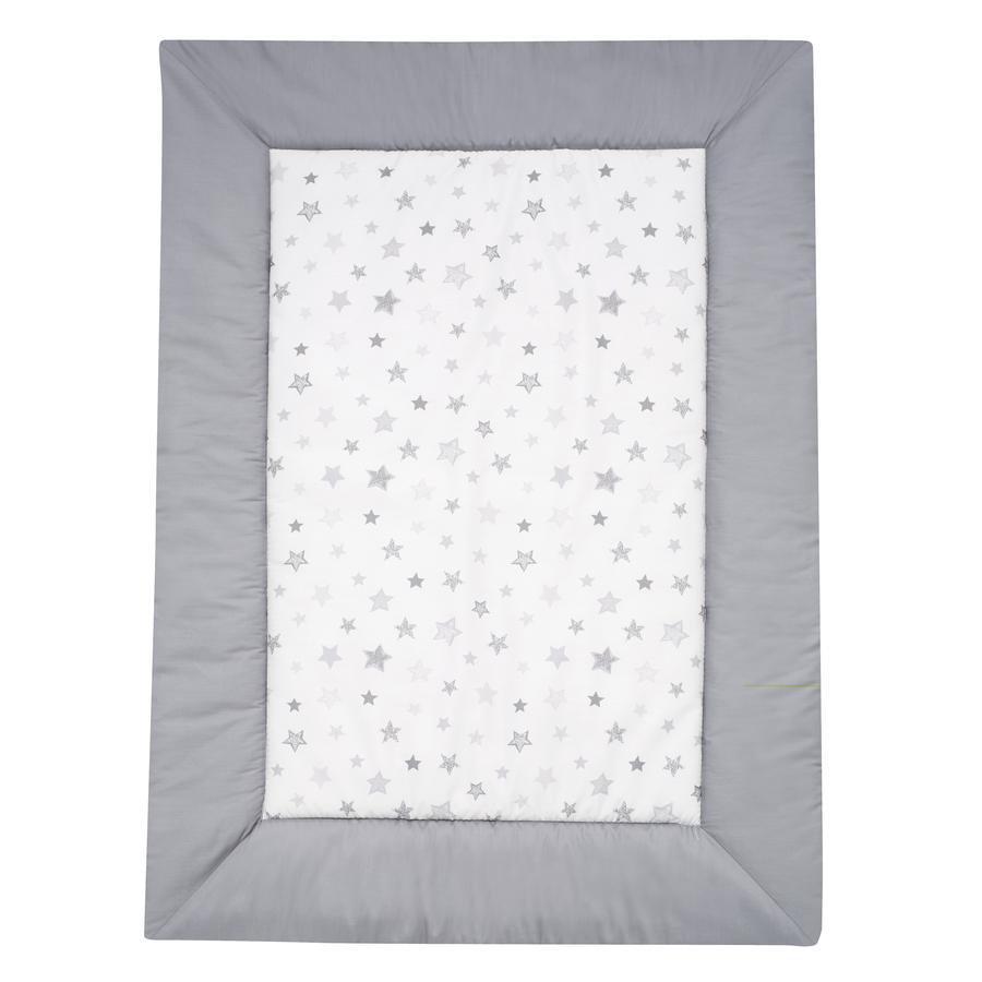 Alvi Hrací deka, hvězdičky stříbrnošedá 100 x 135 cm