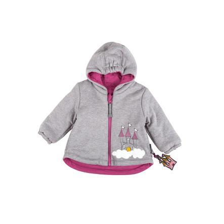 sigikid Girls giacca reversibile grigio melange