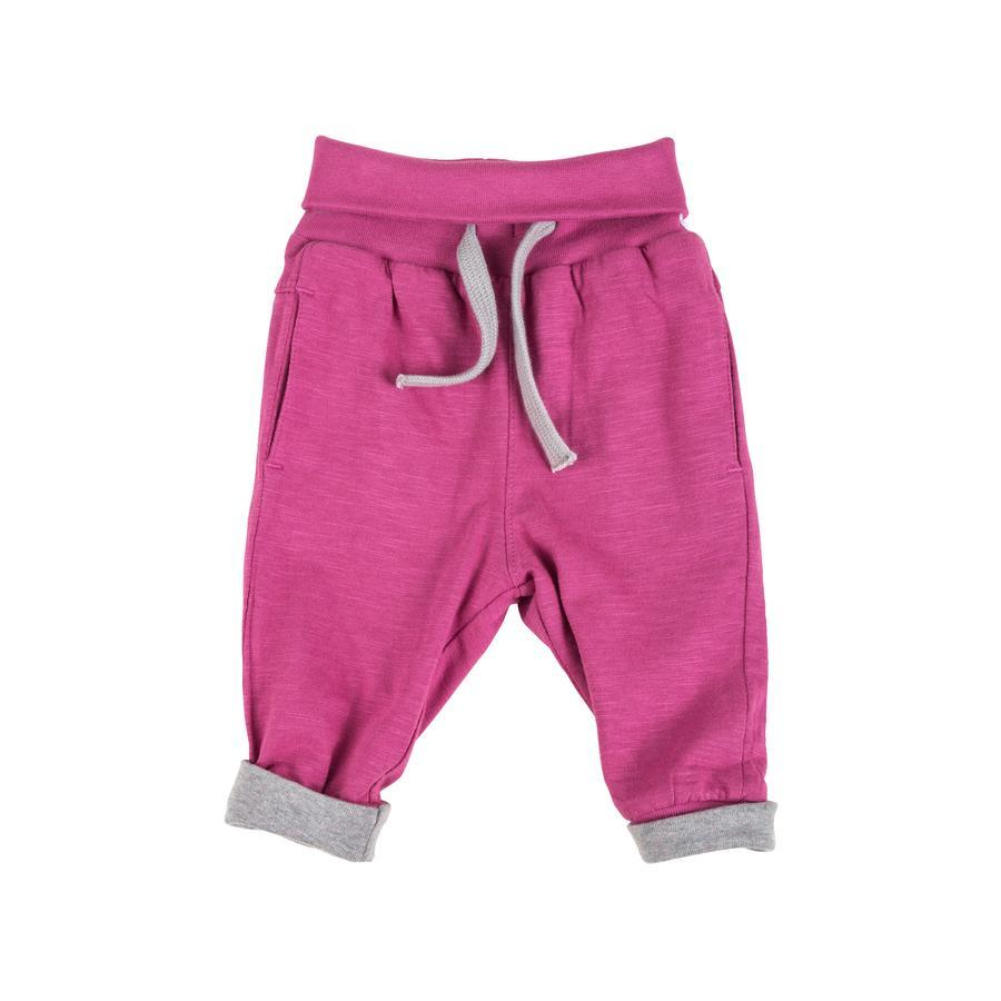 sigikid Girl s odwracalne spodnie z szarym melange'em.