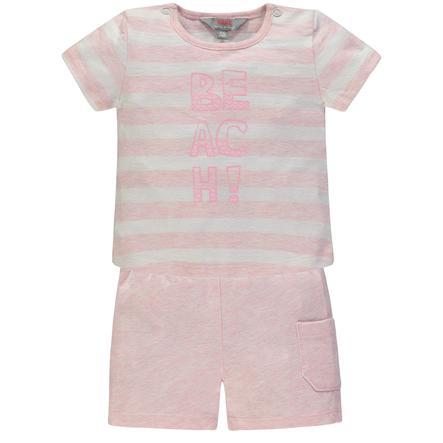 KANZ Girls Maglietta + pantaloncino, rosa