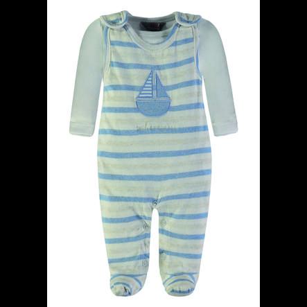 KANZ Baby Strampler-Set, 2-tlg, blau