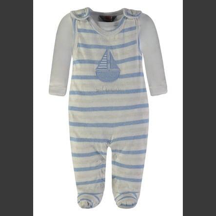 KANZ Juego de pelele para bebé, 2 piezas, azul