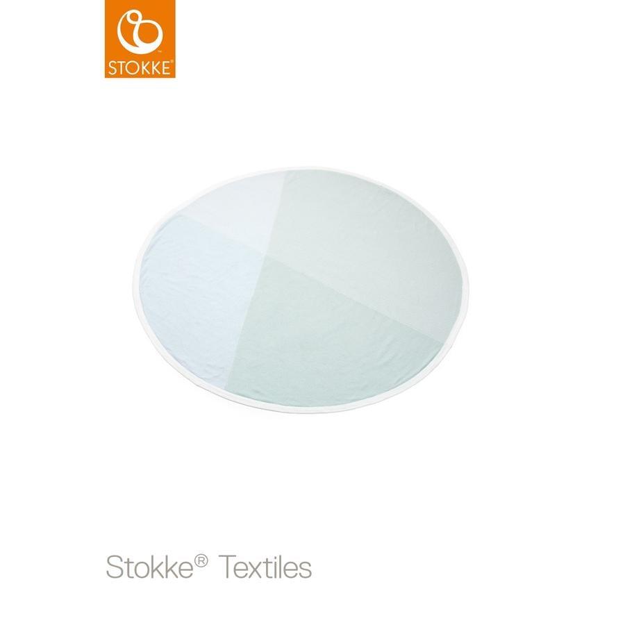 STOKKE® Blanket Strickdecke mint