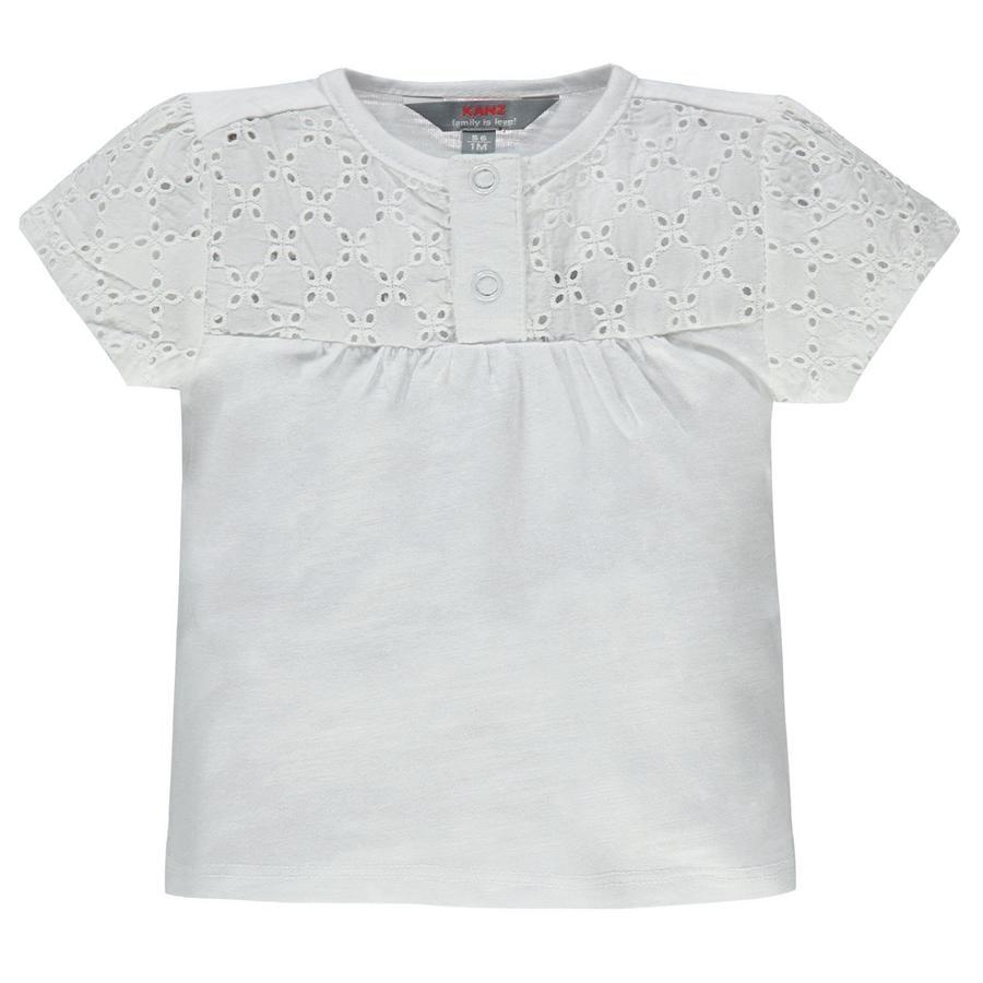 KANZ T-shirt för flickor, vit