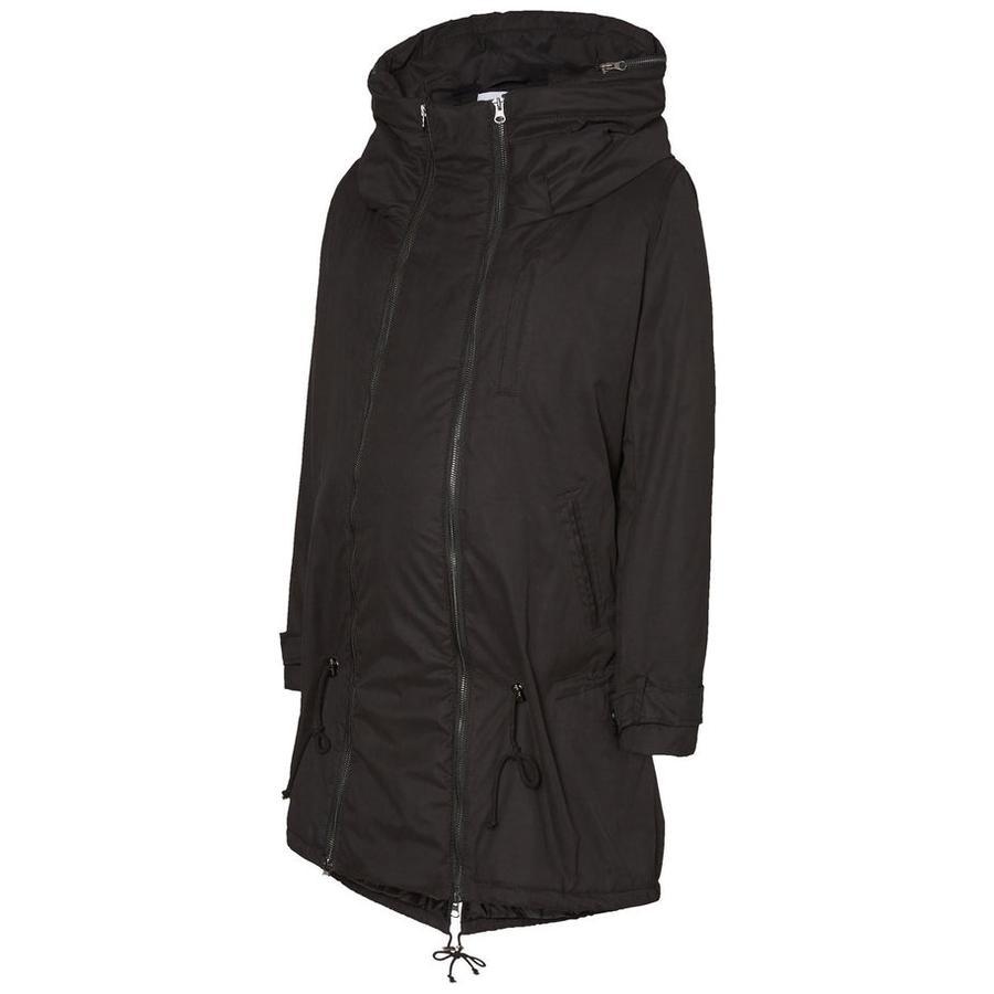 mama licious těhotenská bunda TIKKA CARRY ME black