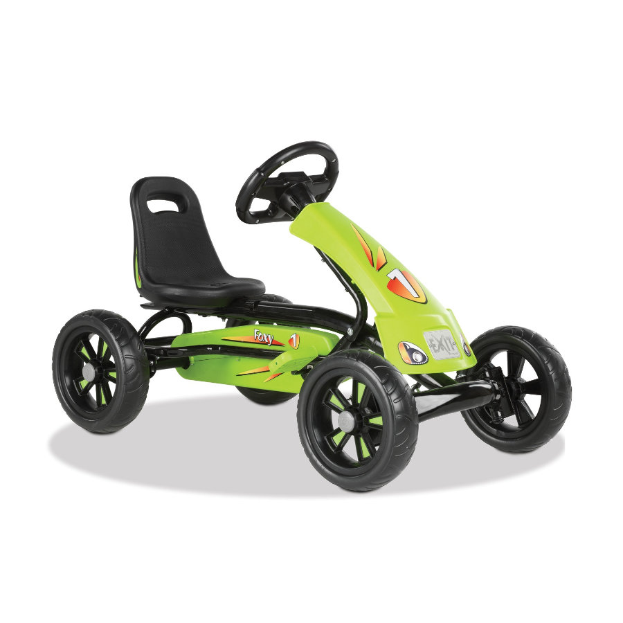EXIT Pedal Go-Kart Trampbil Foxy - grön