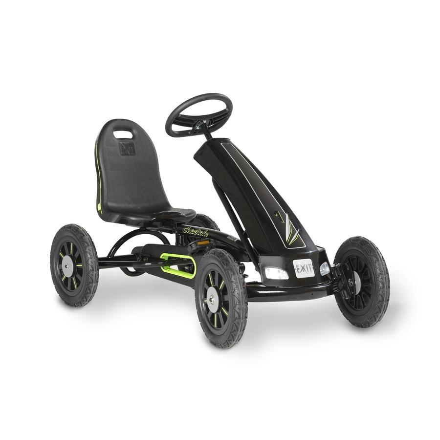 EXIT Kart à pédales enfant Cheetah, noir
