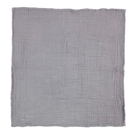 HÜTTE & CO Lot de 3 serviettes molletonnées gris 60 x 60 cm